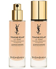 Touche Éclat Foundation SPF 22, 1 oz.