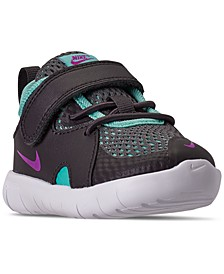 Toddler Girls Flex Contact 3 Stay-Put Closure Casual Athletic Sneakers from Finish Line