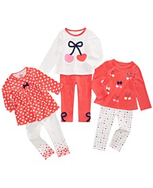 Baby Girls Cherry Love Mix & Match Separates, Created For Macy's