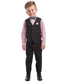 Nautica Toddler Boys 5-Pc. Textured Tailored Vest Set