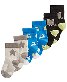 Baby Boys 3-Pk. Socks, Created For Macy's