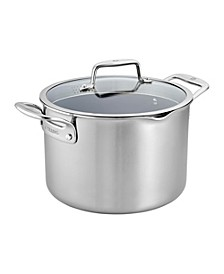 Zwilling Clad CFX 8-Qt. Stock Pot with Strainer Lid and Pouring Spouts