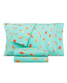 Kids Tropical Fish Full Sheet Set