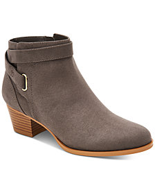 Giani Bernini Oleesia Memory-Foam Ankle Booties, Created For Macy's