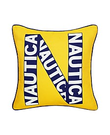 Kids Logo Decorative Pillow