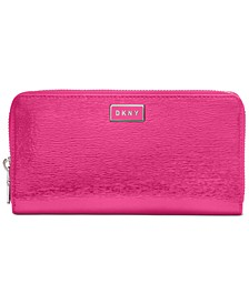 Gigi Leather Zip Around Wallet, Created For Macy's