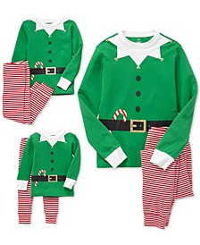 Matching Elf Family Pajamas Collection