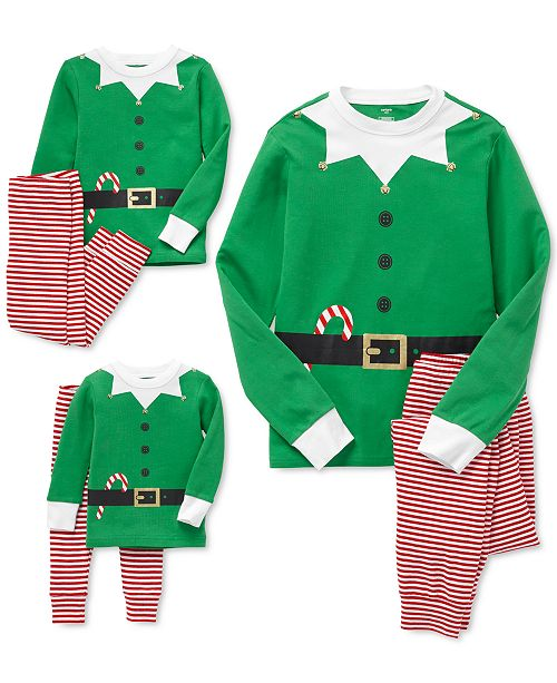 Carter's Matching Elf Family Pajamas Collection