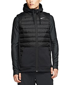Men's Therma Zip Training Hoodie Vest
