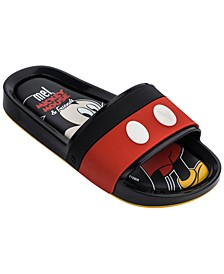 Little Girls Beach Slide Mickey and Friends II Shoe