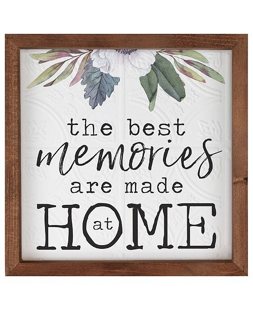P Graham Dunn The Best Memories Are Made At Home Wall Art