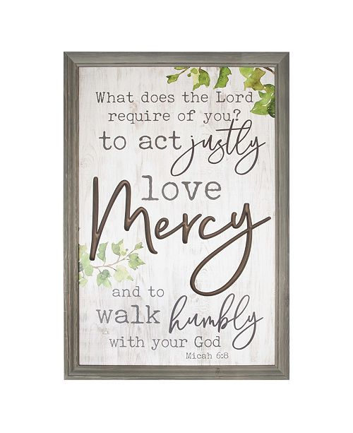 P Graham Dunn What Does The Lord Require Of You? Wall Art