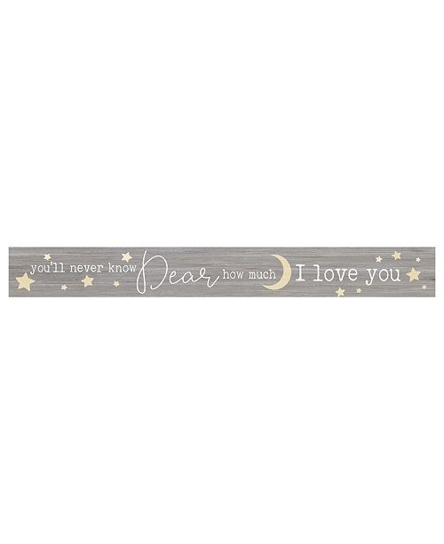 P Graham Dunn You'Ll Never Know Dear How Much I Love You Wall Art