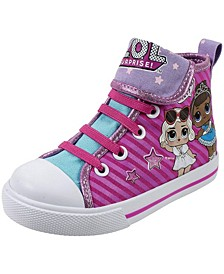L.O.L. Surprise! Little Girls Hi Top Sneaker