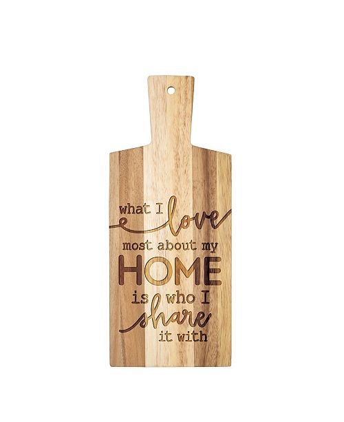 P Graham Dunn What I Love Most About My Home Is Who I Share It With Wall Art
