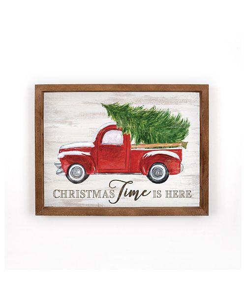P Graham Dunn Christmas Time Is Here Wall Art