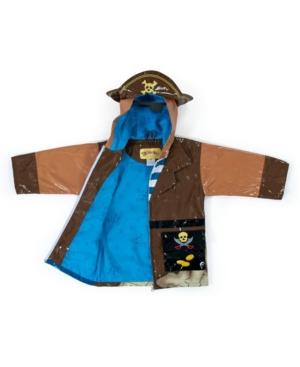 Kidorable Big Boy with Comfy Pirate Raincoat