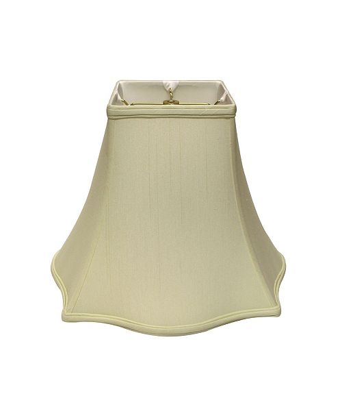 Cloth&Wire Slant Fancy Square Softback Lampshade with Washer Fitter