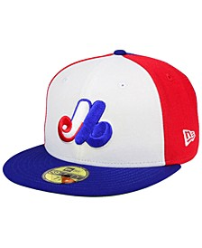 Montreal Expos Basic 9FIFTY Snapback Cap