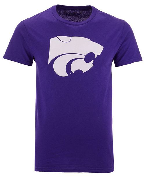 New Agenda Men's Kansas State Wildcats Big Logo T-Shirt