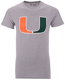 Men's Miami Hurricanes Big Logo T-Shirt