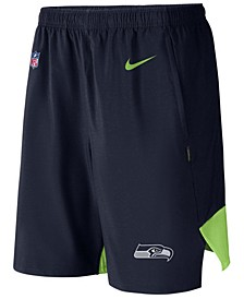 Men's Seattle Seahawks Player Practice Flex Shorts