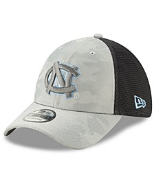 North Carolina Tar Heels Gray Camo Neo 39THIRTY Cap