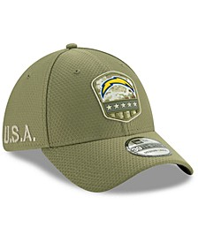 Los Angeles Chargers On-Field Salute To Service 39THIRTY Cap