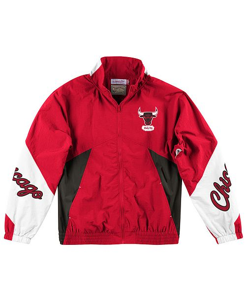 Mitchell & Ness Men's Chicago Bulls Midseason Windbreaker Jacket