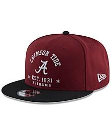 Alabama Crimson Tide Lifestyle Arch 9FIFTY Snapback Cap