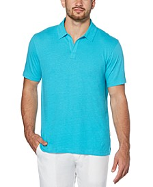 Men's No-Button Polo Shirt