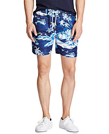 "Polo Ralph Lauren Men's 5.5"" Inch Traveler Swim Trunk"