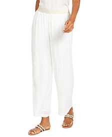 Gauze Wide-Leg Pull-On Pants, Created for Macy's