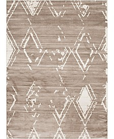 Carnegie Hill Uptown Jzu006 Light Brown 9' x 12' Area Rug