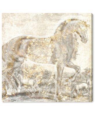 Brilliant Equestrian Canvas Art, 43