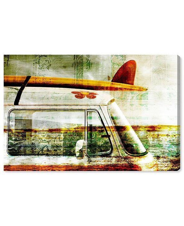 "Oliver Gal Surf Van Canvas Art, 45"" x 30"""