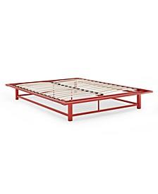 Platform Metal Bed, Full