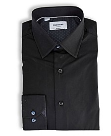 Solid Textured Dress Shirt