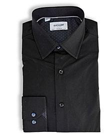 Duchamp London Solid Textured Dress Shirt