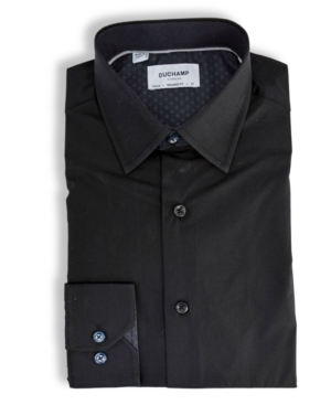 Solid Textured Dress Shirt