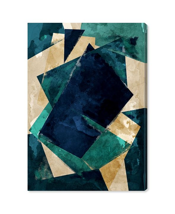 "Oliver Gal Abstracta Dos Canvas Art, 24"" x 36"""