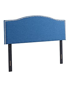 Amanda Upholstered Radius Headboard, King/California King