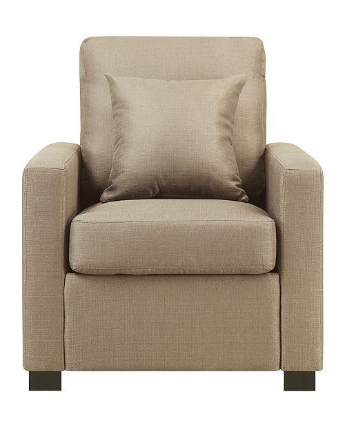 Dwell Home Inc. Manhattan Chair with Pillow
