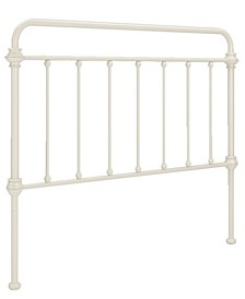 Calvados Antique Metal Headboard, Full