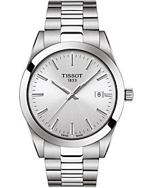 Tissot Men's Swiss T-Classic Gentleman Stainless Steel Bracelet Watch 40mm