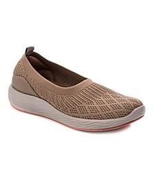 Leila Slip-On Stretch Knit Shoes