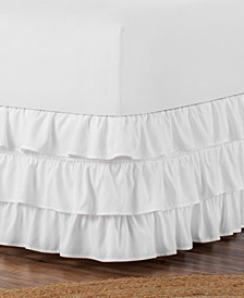 Belles & Whistles 3-Tiered Ruffle Full Bed Skirt