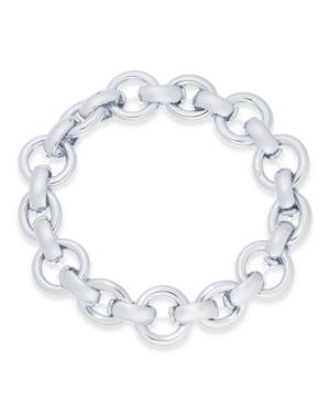 Large Link Stretch Bracelet