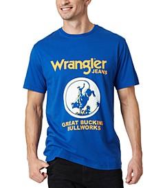 Men's Bullriding Graphic T-Shirt