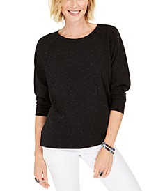 Speckled Sweatshirt, Created for Macy's